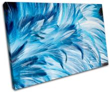 Feathers Wildlife Abstract - 13-1576(00B)-SG32-LO
